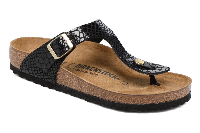 Sandaler Birkenstock Gizeh W Sort detaljeret billede af skoene