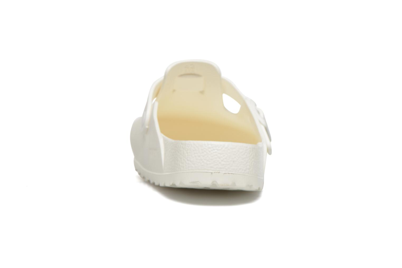 Sandali e scarpe aperte Birkenstock Boston Eva Bianco immagine destra