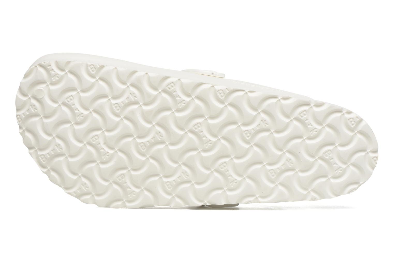 Sandales et nu-pieds Birkenstock Boston Eva Blanc vue haut