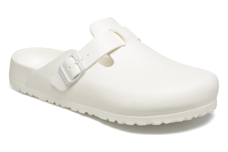 Sandales et nu-pieds Birkenstock Boston Eva Blanc vue détail/paire