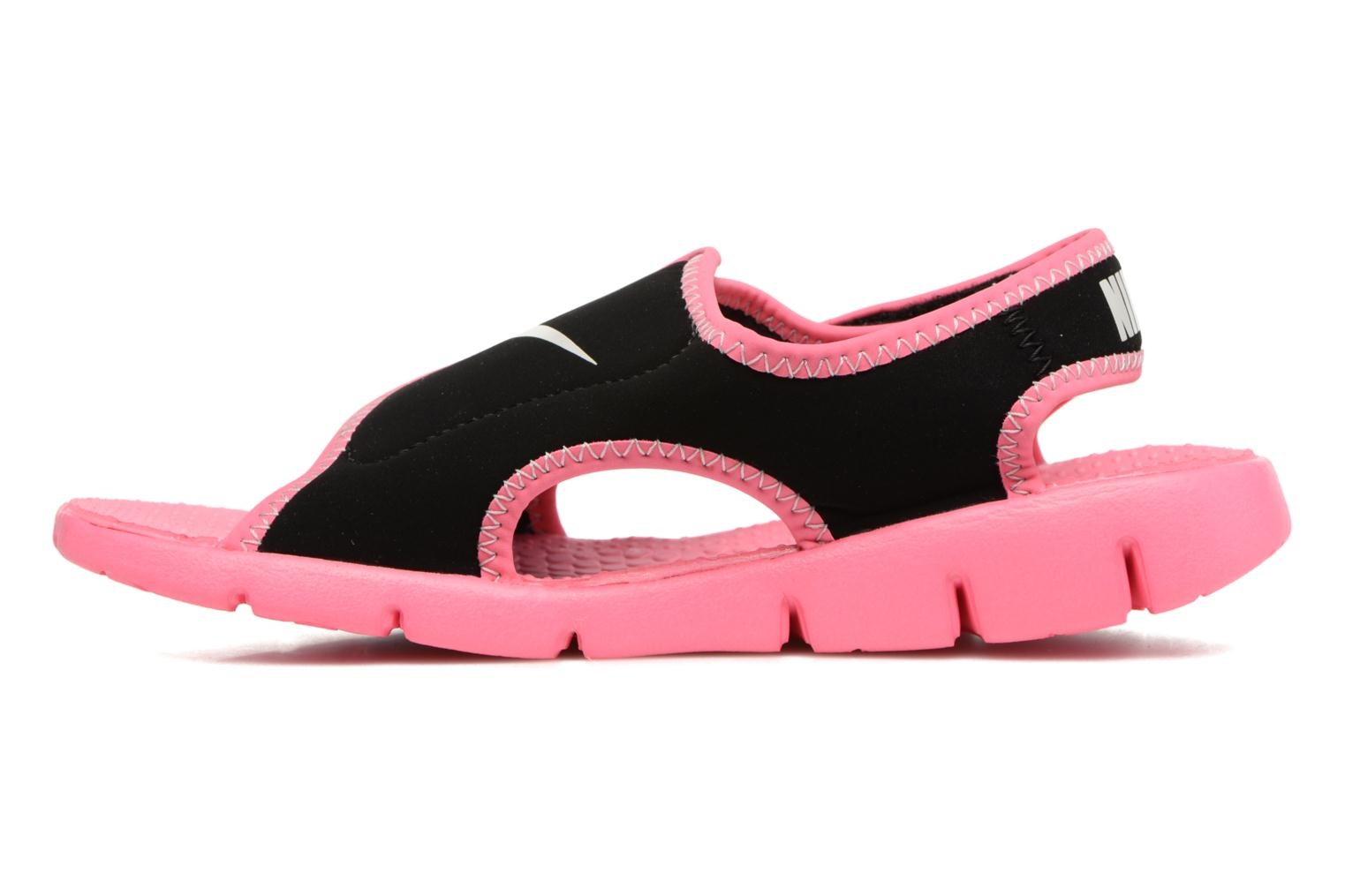 Sandalias Nike Nike Sunray Adjust 4 (Gs/Ps) Negro vista de frente