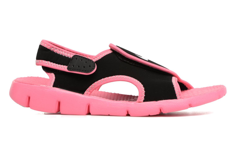 Sandalen Nike Nike Sunray Adjust 4 (Gs/Ps) Zwart achterkant