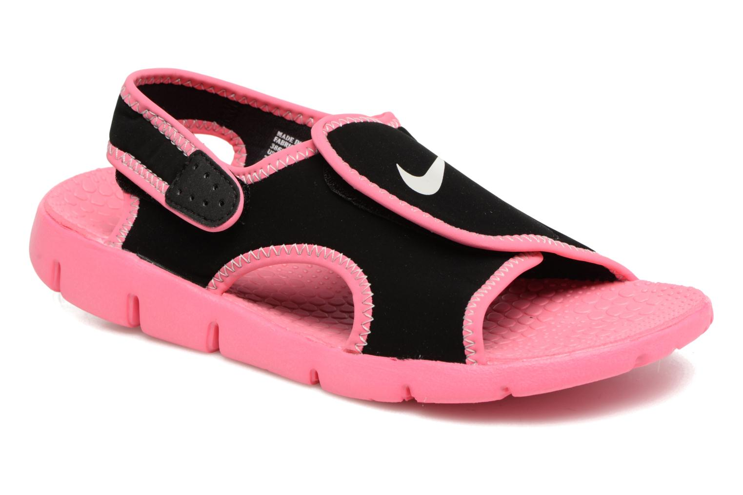 Nike Sunray Adjust 4 (Gs/Ps) Black/Pure Platinum-Digital Pink