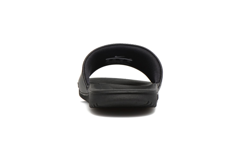 Sandales et nu-pieds Nike Nike Kawa Slide (Gs/Ps) Noir vue droite