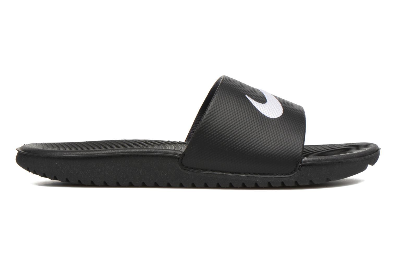Sandales et nu-pieds Nike Nike Kawa Slide (Gs/Ps) Noir vue derrière