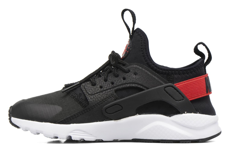 Sneaker Nike Nike Huarache Run Ultra (Ps) schwarz ansicht von vorne