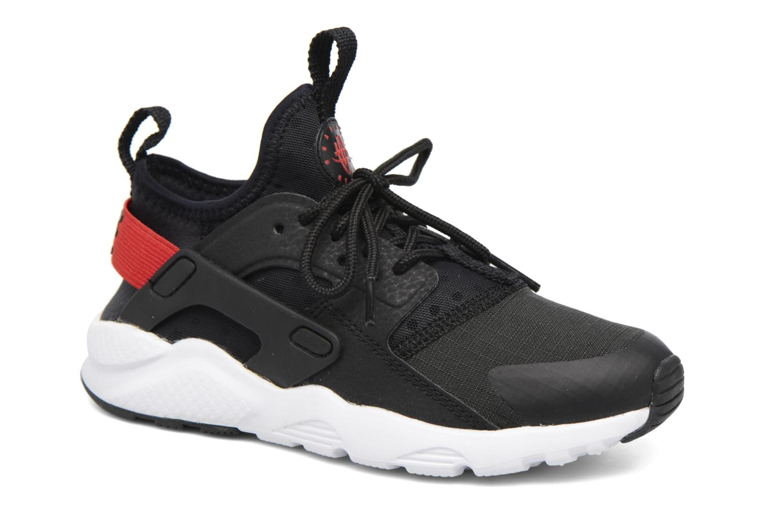 Nike Huarache Run Ultra (Ps) Black/Max Orange-White