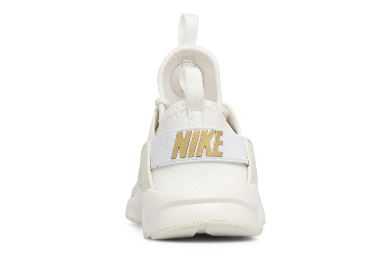 Nike Huarache Run Ultra (Ps) Summit White/Metallic Gold-Summit White
