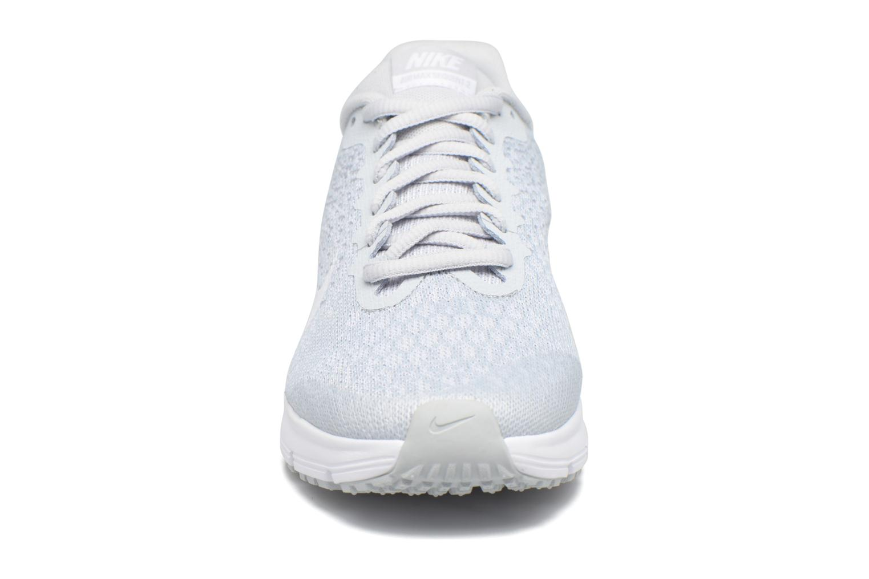 Baskets Nike Nike Air Max Sequent 2 (Gs) Gris vue portées chaussures