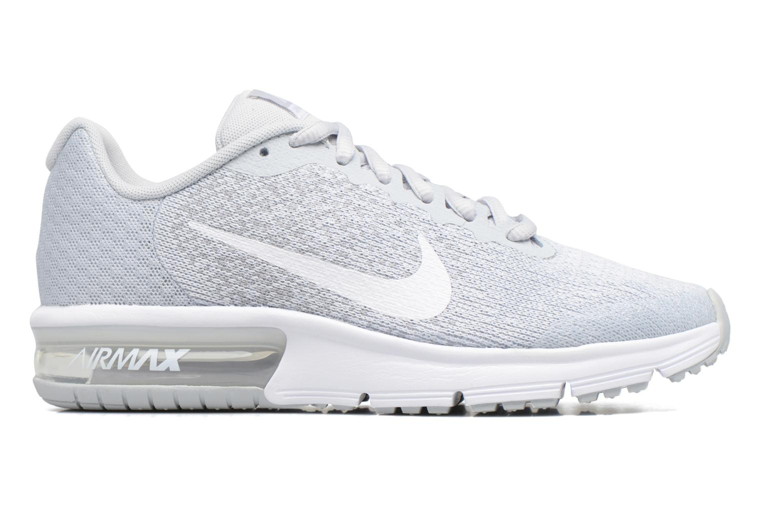 Nike Air Max Sequent 2 (Gs) Pure Platinum/White-Wolf Grey