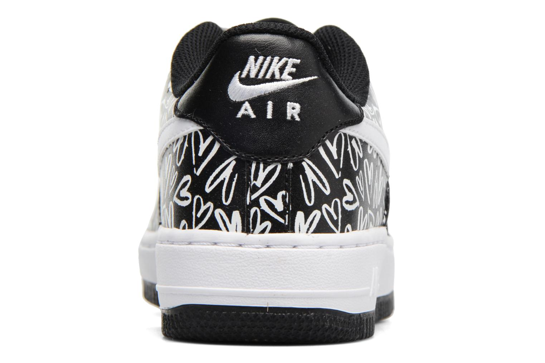 Sneakers Nike Air Force 1 Print (Gs) Nero immagine destra