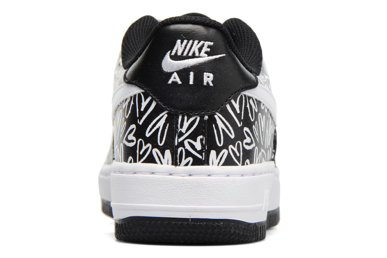 Deportivas Nike Air Force 1 Print (Gs) Negro vista lateral derecha
