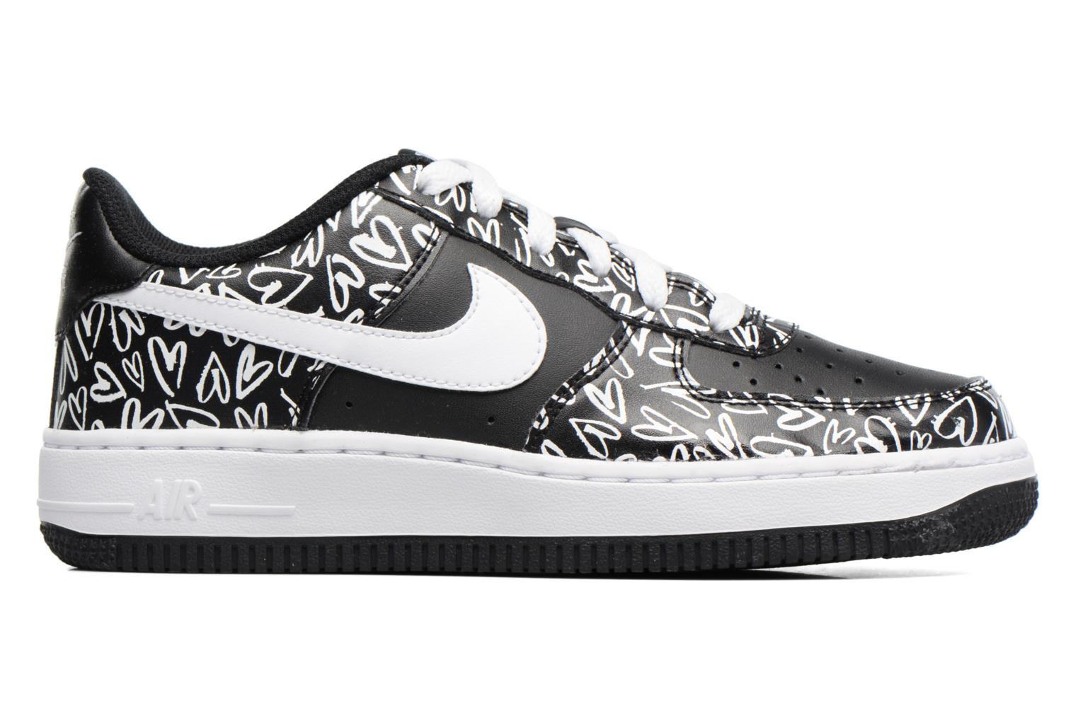 Sneakers Nike Air Force 1 Print (Gs) Nero immagine posteriore