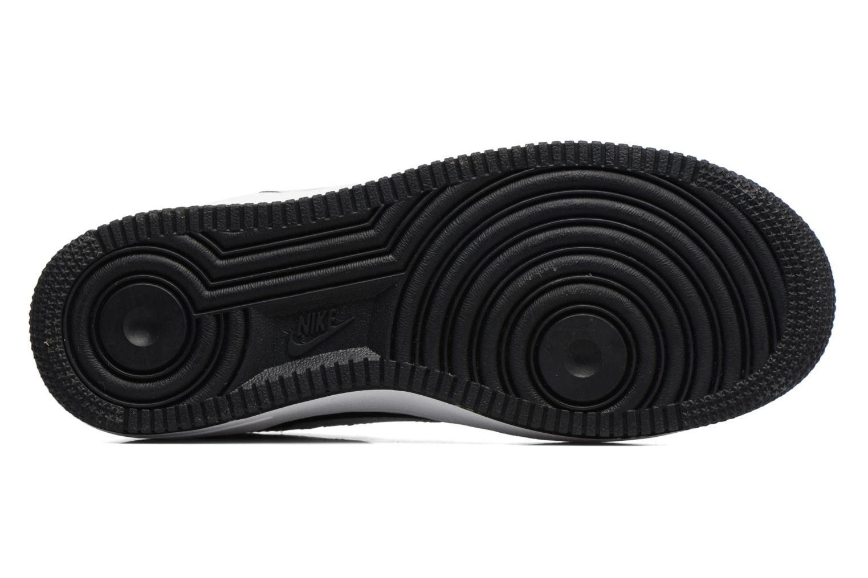 Baskets Nike Air Force 1 Print (Gs) Noir vue haut