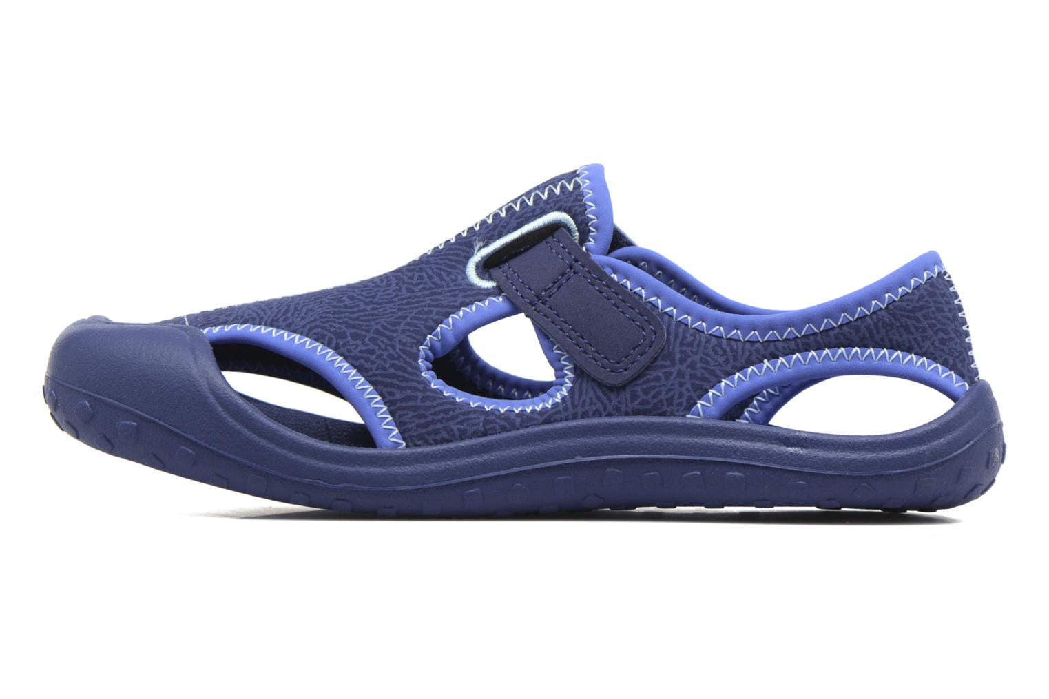 Sandals Nike Nike Sunray Protect (Ps) Blue front view