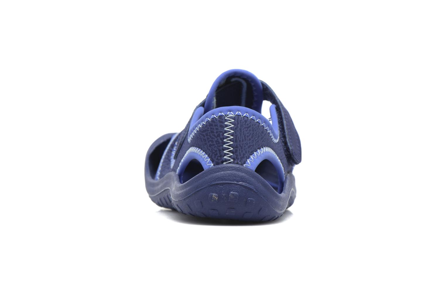 Sandals Nike Nike Sunray Protect (Ps) Blue view from the right