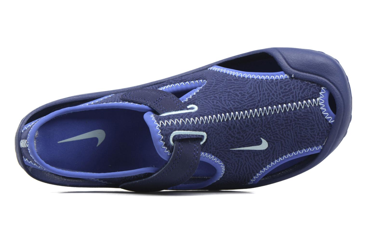 Sandals Nike Nike Sunray Protect (Ps) Blue view from the left