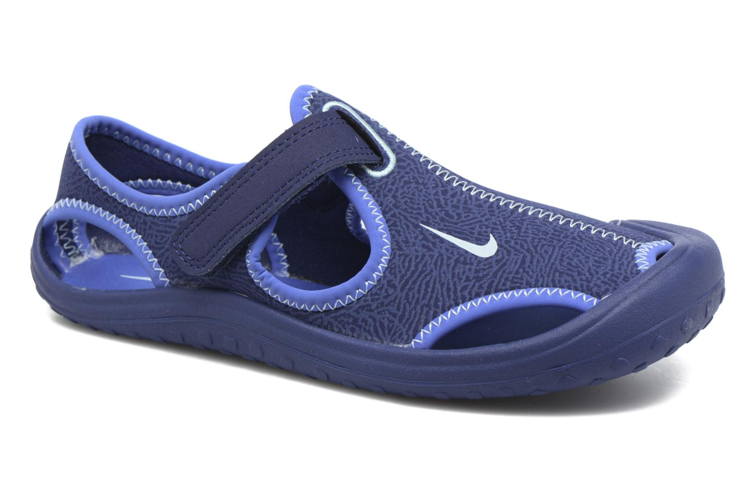 Sandals Nike Nike Sunray Protect (Ps) Blue detailed view/ Pair view