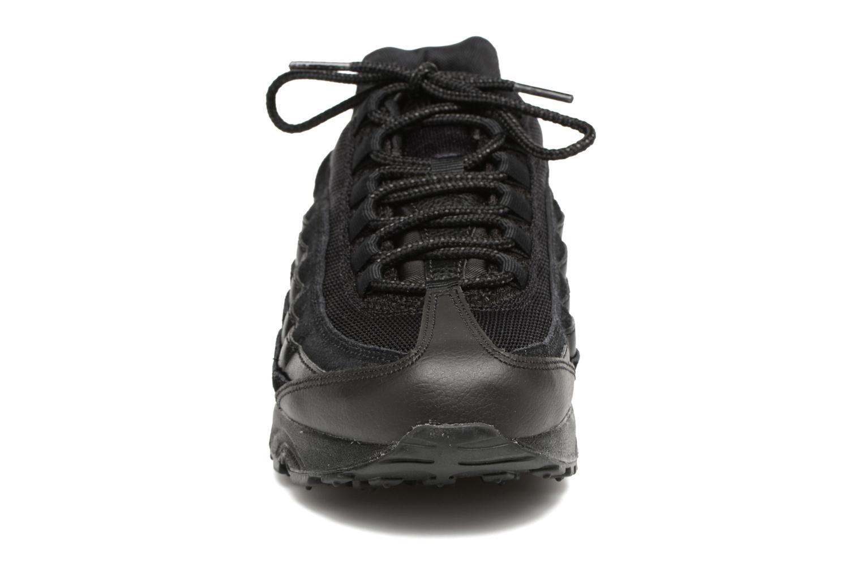 Baskets Nike Nike Air Max 95 (Gs) Noir vue portées chaussures