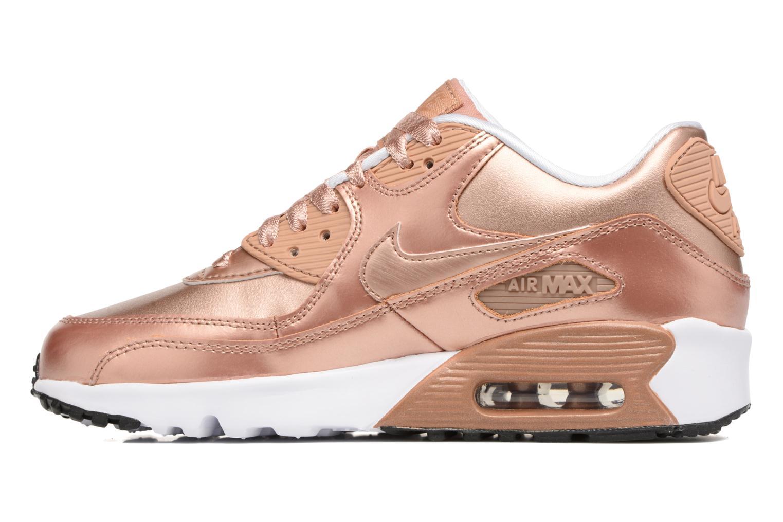 Sneakers Nike Nike Air Max 90 SE Leather (Gs) Oro e bronzo immagine frontale