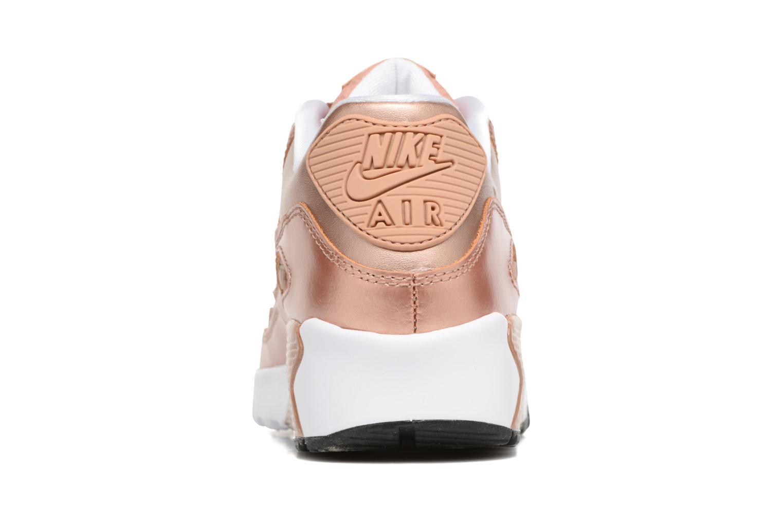Sneakers Nike Nike Air Max 90 SE Leather (Gs) Oro e bronzo immagine destra