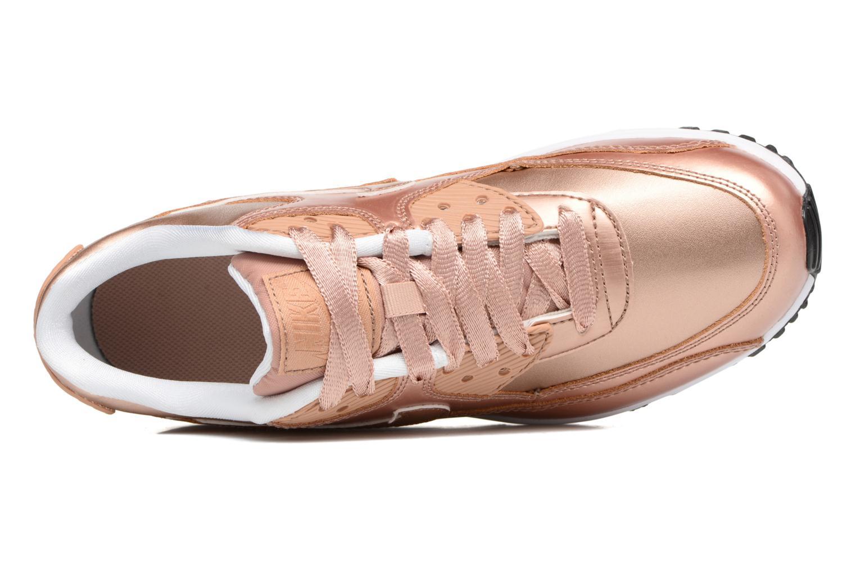 Sneakers Nike Nike Air Max 90 SE Leather (Gs) Oro e bronzo immagine sinistra
