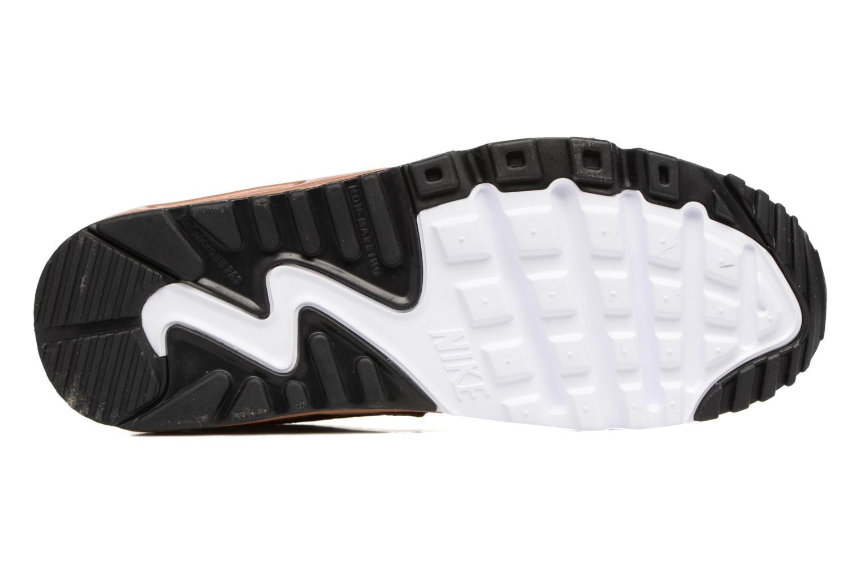 Baskets Nike Nike Air Max 90 SE Leather (Gs) Or et bronze vue haut