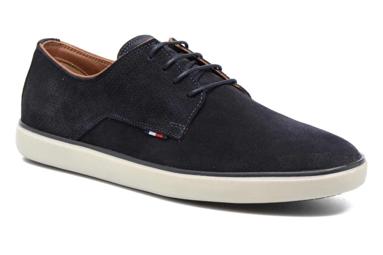 Chaussures à lacets Tommy Hilfiger George 1B Bleu vue détail/paire
