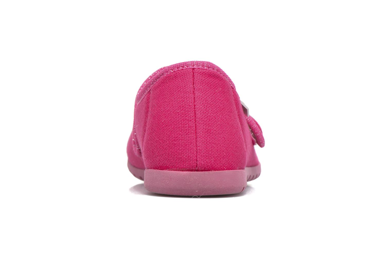 Chaussons Giesswein Liebsted Rose vue droite