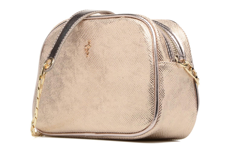 Handbags Menbur NIDELLA Bronze and Gold model view