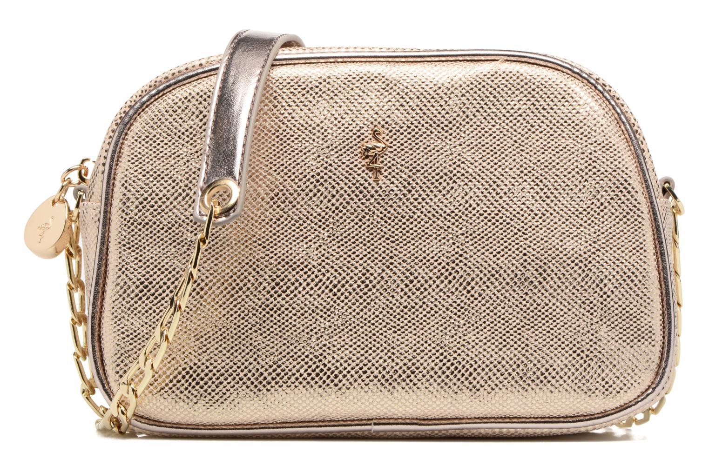 Håndtasker Menbur NIDELLA Guld og bronze detaljeret billede af skoene