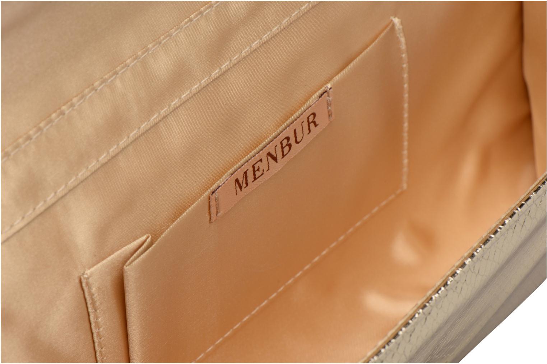 Sacs pochettes Menbur ARMENIA2 Or et bronze vue derrière