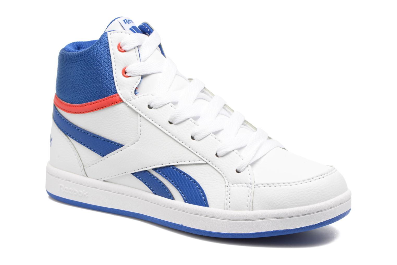 Baskets Reebok Reebok Royal Prime Mid Blanc vue détail/paire