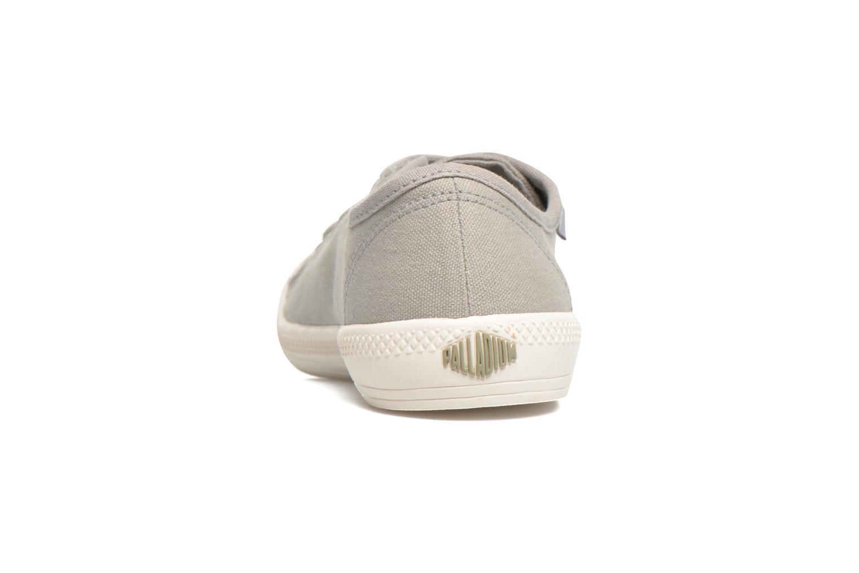 Baskets Palladium Us Flex Lace F Gris vue droite
