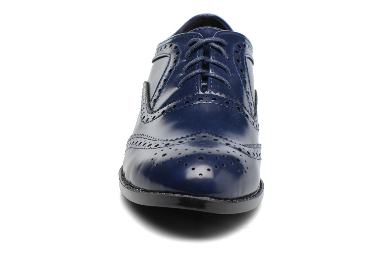 Snörade skor I Love Shoes KIBROG Blå bild av skorna på