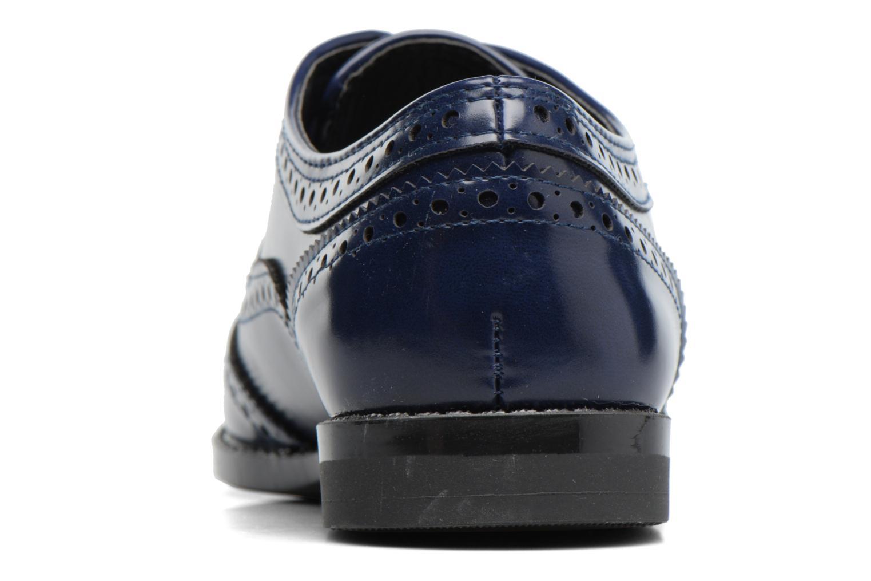 Snörade skor I Love Shoes KIBROG Blå Bild från höger sidan