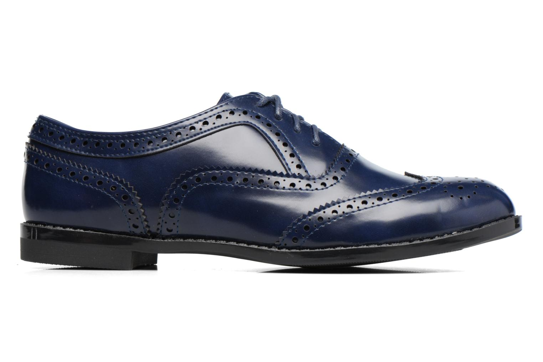 Snörade skor I Love Shoes KIBROG Blå bild från baksidan