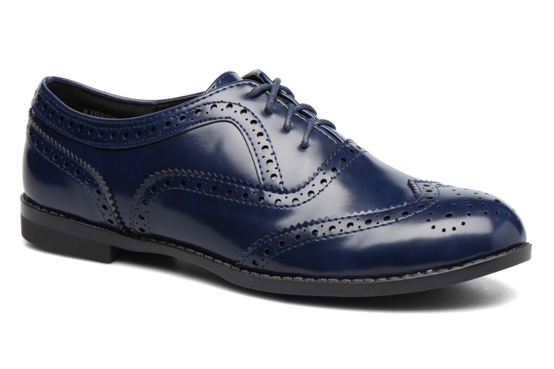 Snörade skor I Love Shoes KIBROG Blå detaljerad bild på paret