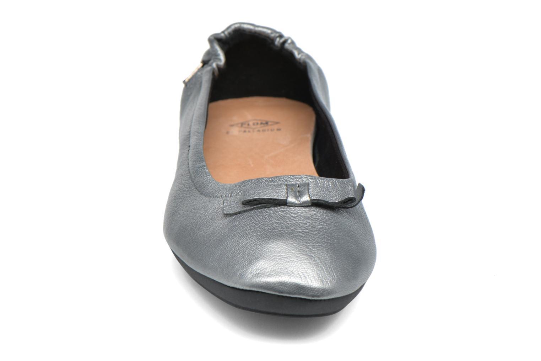 Ballerines P-L-D-M By Palladium Lovell Got Argent vue portées chaussures