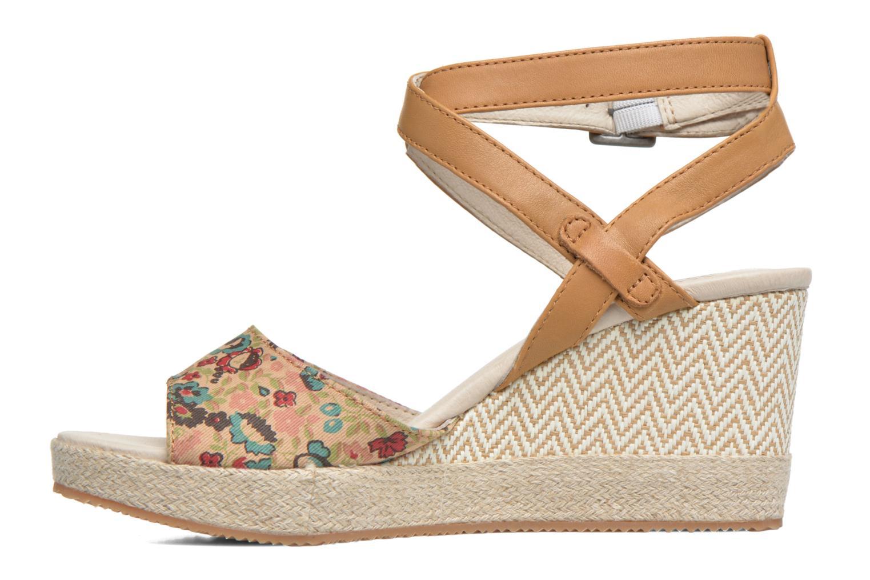 Sandales et nu-pieds P-L-D-M By Palladium Walnut Print Marron vue face
