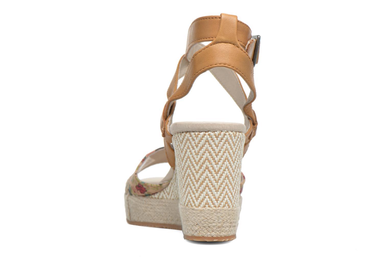 Sandales et nu-pieds P-L-D-M By Palladium Walnut Print Marron vue droite