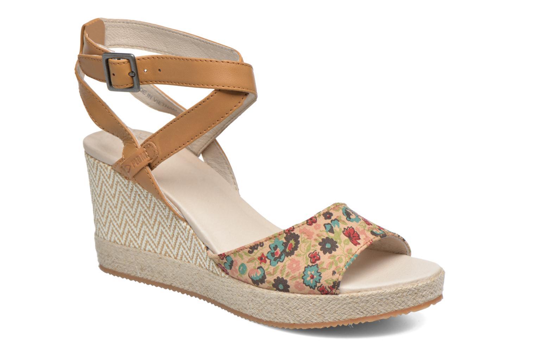 Sandales et nu-pieds P-L-D-M By Palladium Walnut Print Marron vue détail/paire