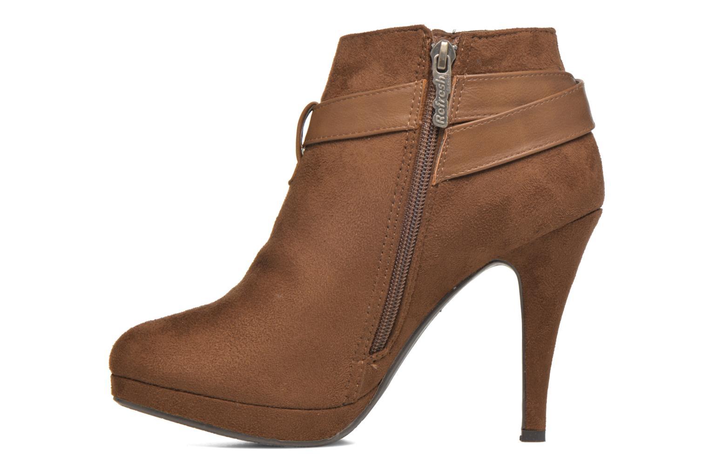 Bottines et boots Refresh Selma-61227 Marron vue face