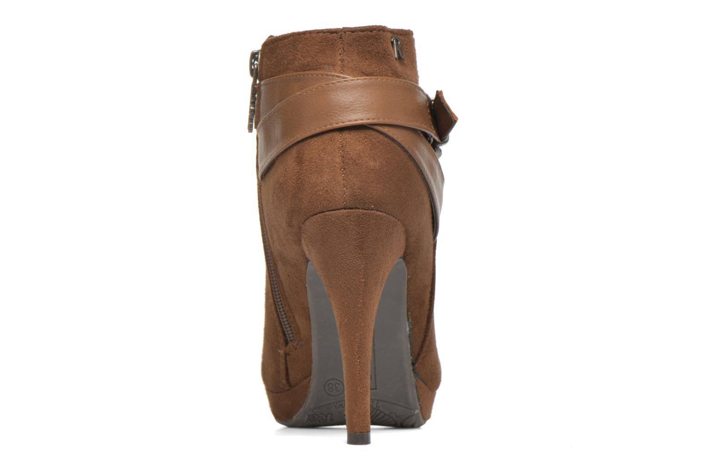 Bottines et boots Refresh Selma-61227 Marron vue droite