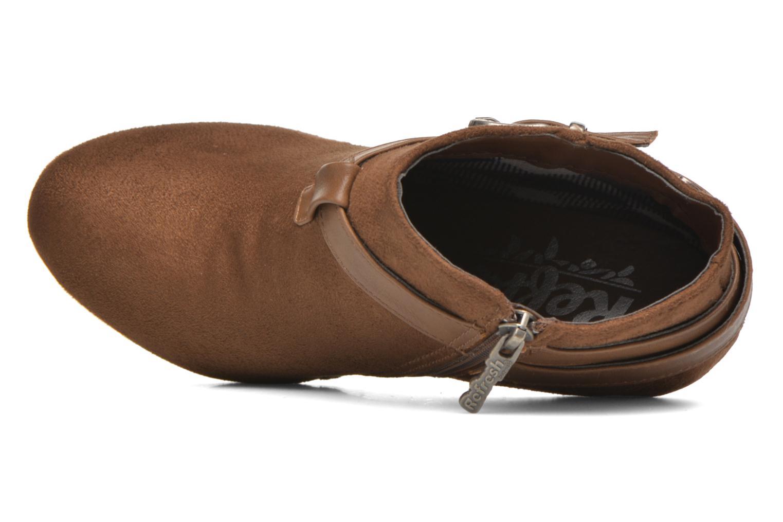 Bottines et boots Refresh Selma-61227 Marron vue gauche