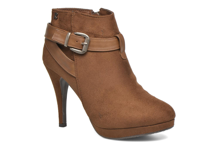 Bottines et boots Refresh Selma-61227 Marron vue détail/paire