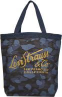 Printed Canvas Graphic Tote Bag