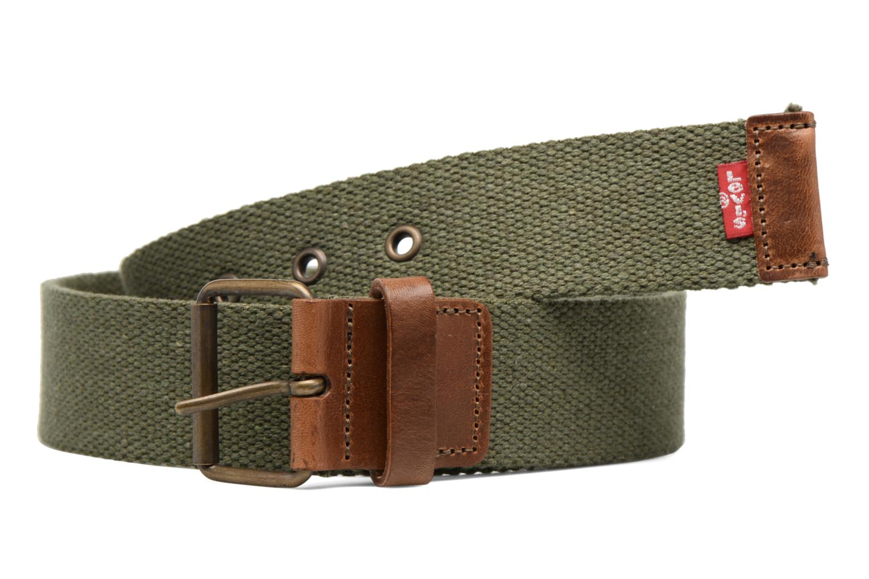 Cinturones Levi's Basic Webbing Belt Verde vista de detalle / par