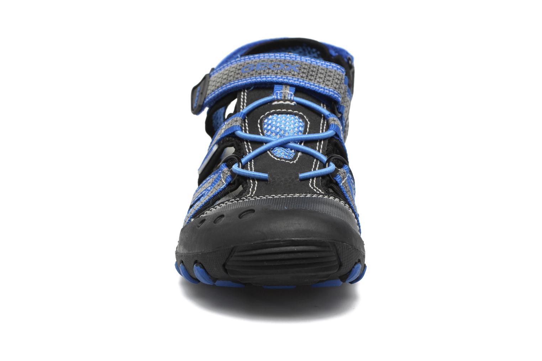 Sandales et nu-pieds Geox J Sand.Kyle C J42E1C Noir vue portées chaussures
