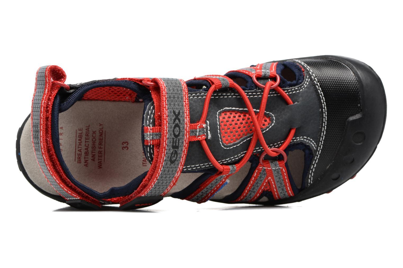 Sandales et nu-pieds Geox J Sand.Kyle C J42E1C Noir vue gauche